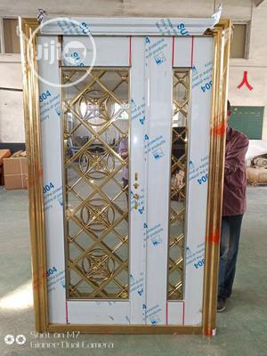 Stainless Glass Bulglary Security Doors | Doors for sale in Lagos State, Alimosho