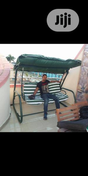 High Quality & Durable Outdoor/Garden 3-Seater Swing Chair .   Garden for sale in Lagos State, Surulere