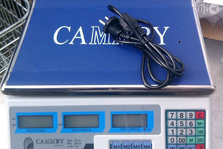 40kg Digital Scale[ Camry]