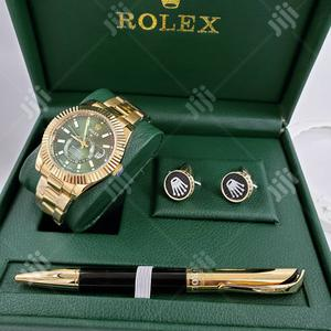 Rolex Wrist Watch With Pen And Cufflinks   Watches for sale in Lagos State, Lagos Island (Eko)
