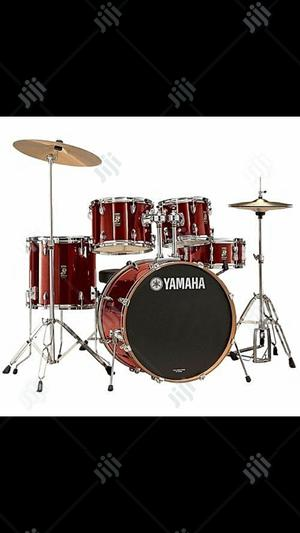 Yamaha - 5 Piece Drum Set - Laser Red | Musical Instruments & Gear for sale in Lagos State, Ojo