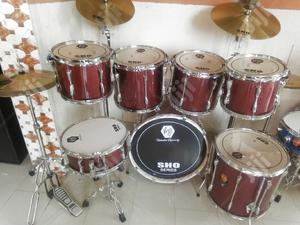 Complete 7pcs Drum Set | Musical Instruments & Gear for sale in Lagos State, Ojo