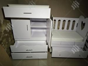 2fite By 3fite Baby Bed And Baby Wardrobe   Children's Furniture for sale in Abuja (FCT) State, Lugbe District