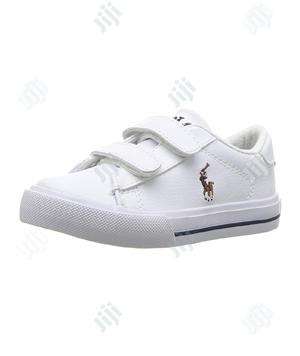 Polo Ralph White Sneakers | Children's Shoes for sale in Lagos State, Ikeja