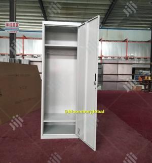 Workers Metal Locker Wardrobe Large 185x60x45cm | Furniture for sale in Lagos State, Ojo