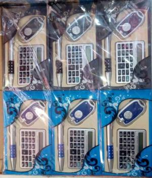 Office Calculator,Pen And Key Holder-12pieces | Stationery for sale in Lagos State, Amuwo-Odofin