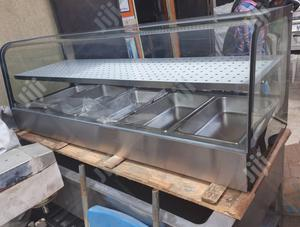 Curved Glass Bain Marie 5 Bowls | Restaurant & Catering Equipment for sale in Lagos State, Ojo
