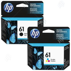 HP 61 Black And Tri Color Original Ink Cartridge | Accessories & Supplies for Electronics for sale in Abuja (FCT) State, Wuse 2