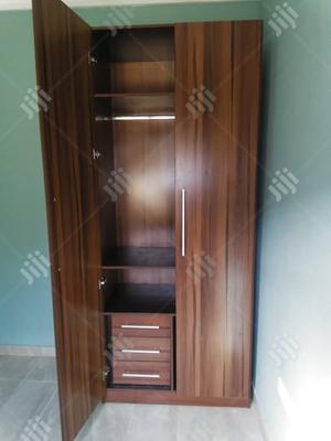 Brown Mdf Wardrobe 4x7 | Furniture for sale in Lagos State, Ajah