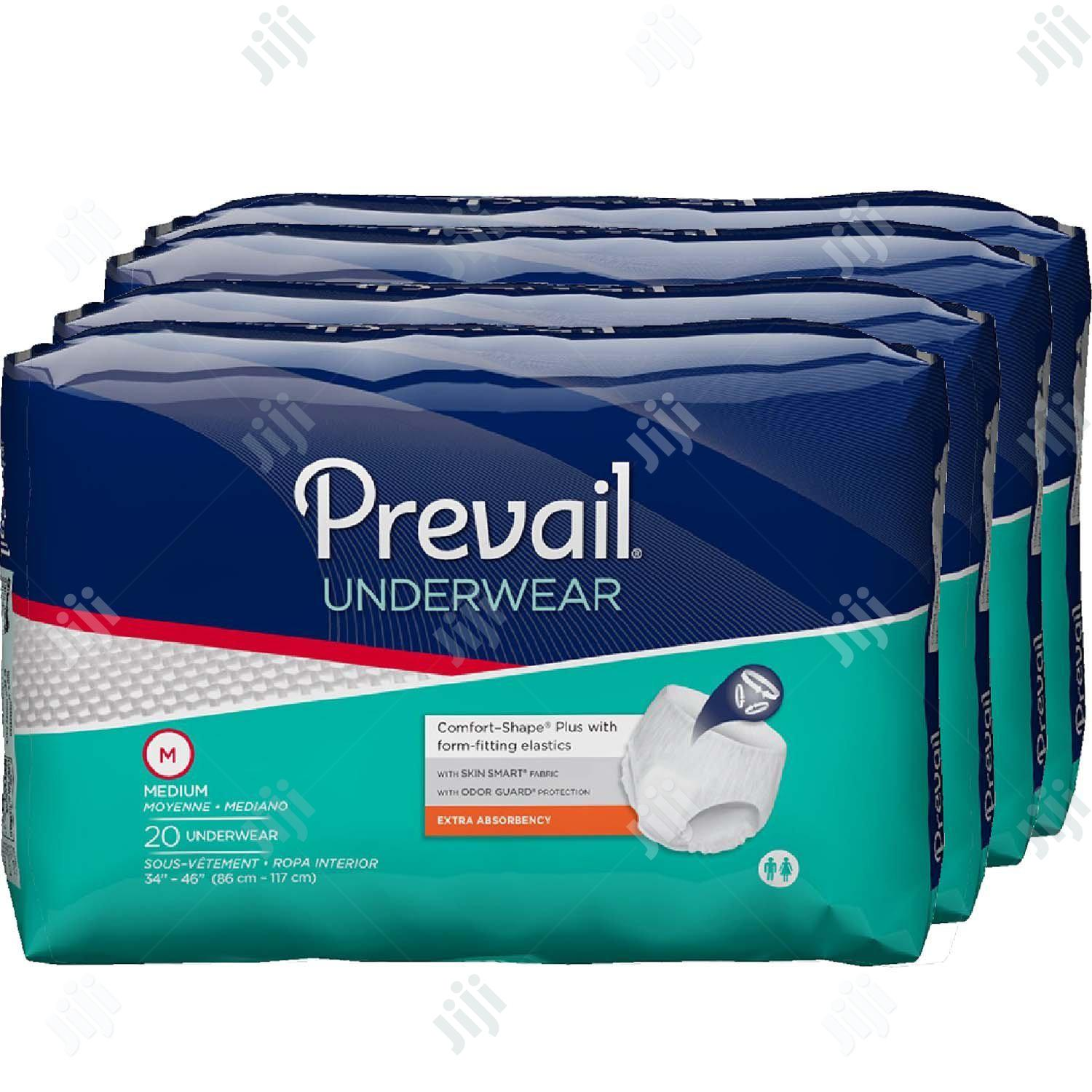 Prevail Protective Underwear/Adult Diaper(4 Packs)