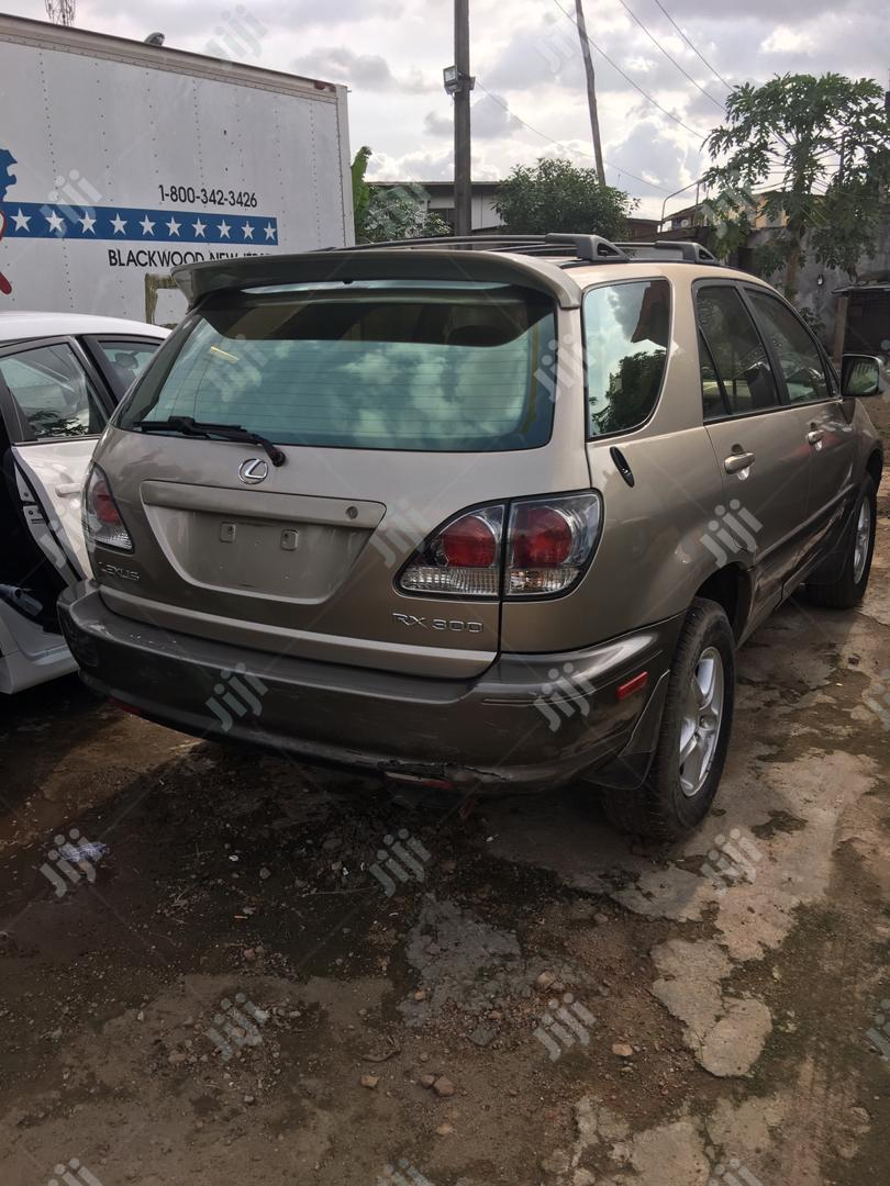 Lexus RX 2003 Gold | Cars for sale in Port-Harcourt, Rivers State, Nigeria