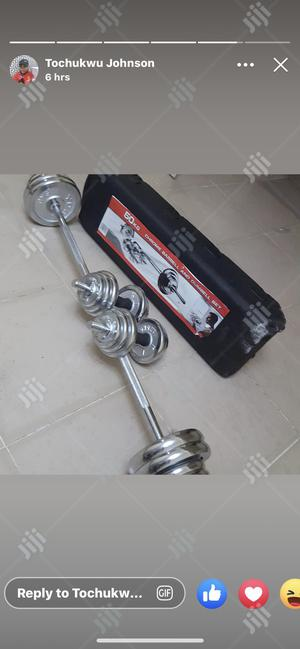 50kg Case Barbell | Sports Equipment for sale in Lagos State, Ikeja