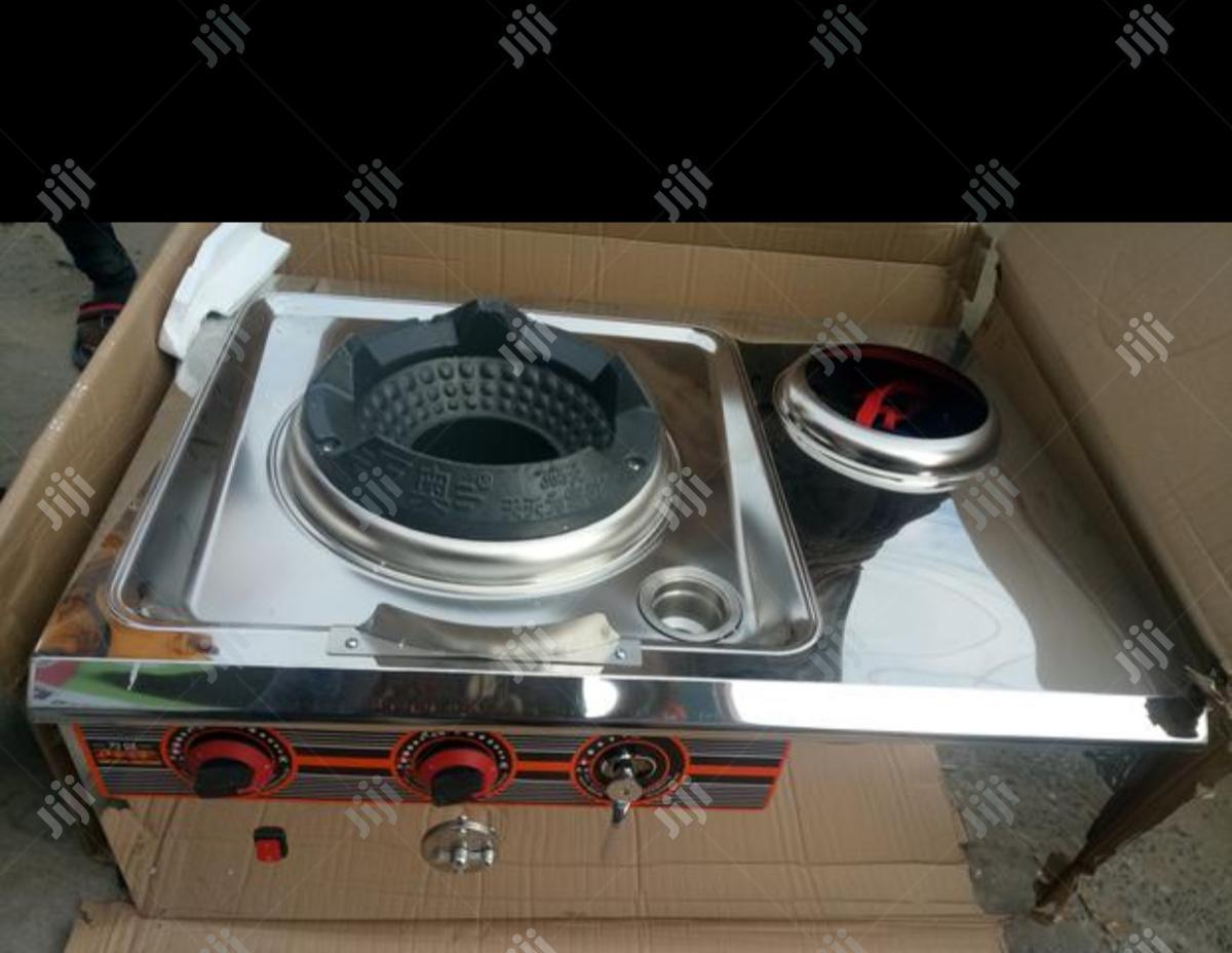 Chinese Cooker Single Burner Black or Golden