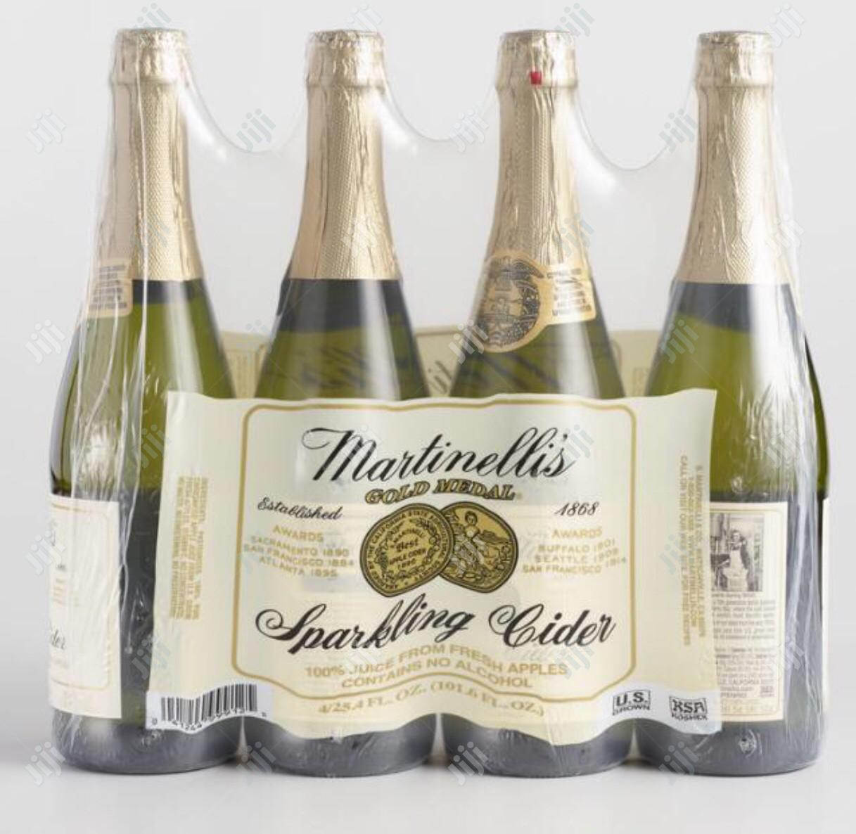 Martinellis Apple Cider No Alcoholic Drinks Packed By 12