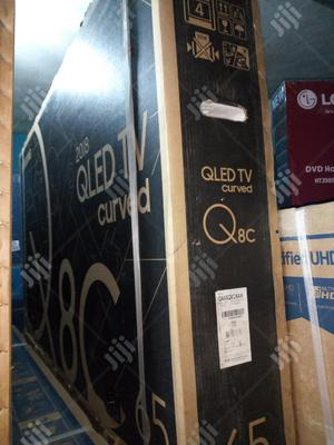 """65""""Samsung Quantum Curved Smart (Qled) Television 
