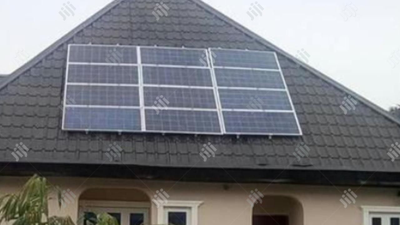 Solar Installation With Inverter