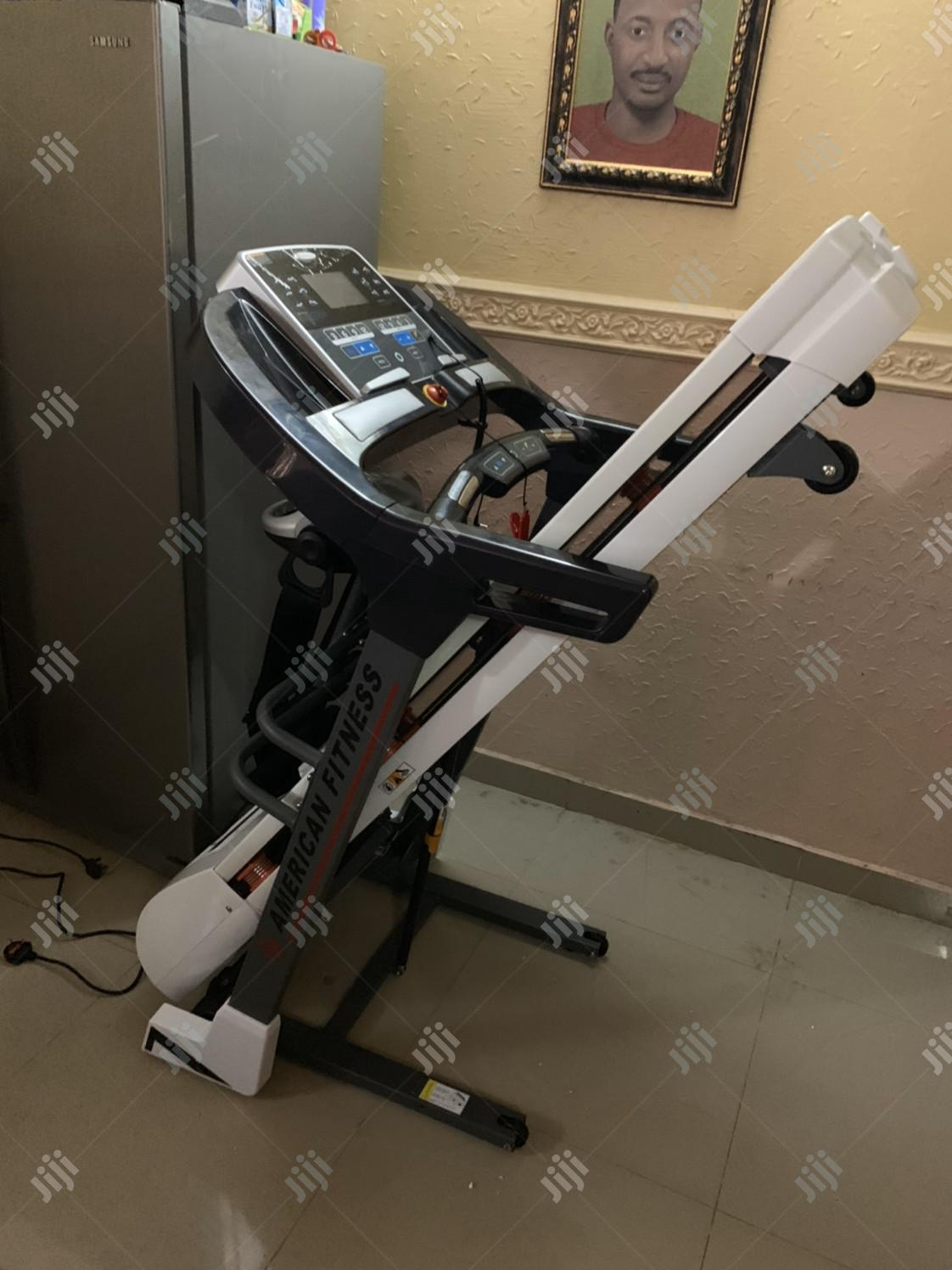 2.5hp Treadmill With Massager | Sports Equipment for sale in Uyo, Akwa Ibom State, Nigeria