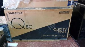 """Brand New 65"""" Samsung Qled Q8 Curved TV - 65Q8C   TV & DVD Equipment for sale in Lagos State, Ojo"""