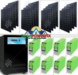 5kva Sinergy Inverter With MONBAT BATTERIES Solar Installation | Building & Trades Services for sale in Lagos State, Gbagada