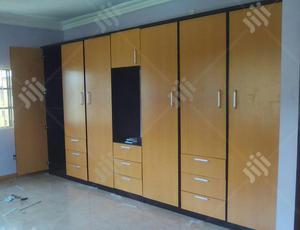 12x8 Brown Hdf Wardrobe | Furniture for sale in Lagos State, Ajah