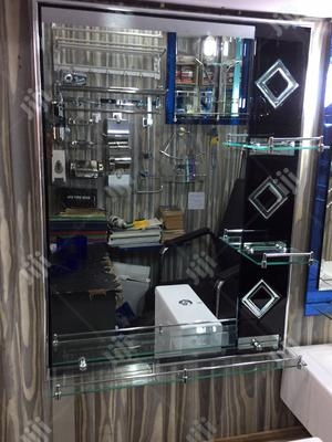 3 Shelves Mirror   Furniture for sale in Lagos State, Orile