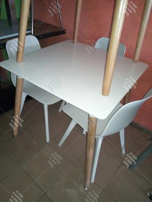High Quality Executive Wooden Leg Table With Chairs   Furniture for sale in Lagos State, Maryland