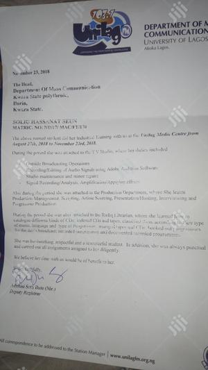 Receptionist | Office CVs for sale in Kwara State, Ilorin West