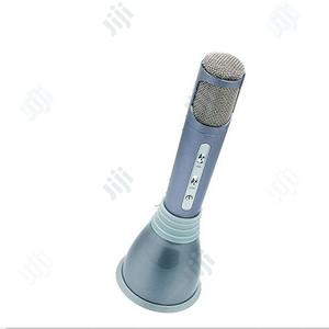 Itek Portable Wireless Speaker and Karaoke Microphone, Silve   Audio & Music Equipment for sale in Lagos State, Ajah