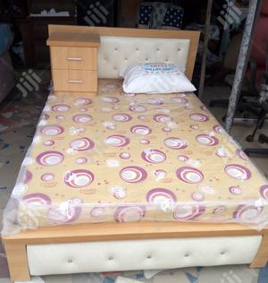 6by4 Design Bed Frame With Original Mattress   Furniture for sale in Lagos State, Ojo