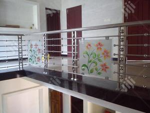 Handrails With Glass. | Building Materials for sale in Lagos State, Ajah