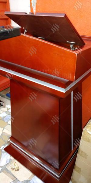 Wooden Pulpit Stand | Furniture for sale in Lagos State, Ojo