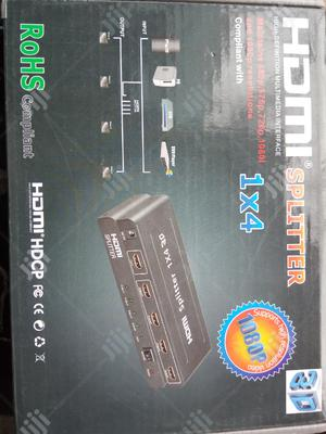 Hdmi Splitter 4 Way | Accessories & Supplies for Electronics for sale in Lagos State, Ikeja