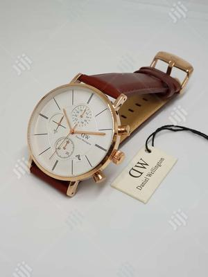 Daniel Wellington Leather Wrist Watch | Watches for sale in Lagos State, Lagos Island (Eko)