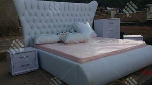 Paded Curve Design Bed Frame   Furniture for sale in Abuja (FCT) State, Gwarinpa