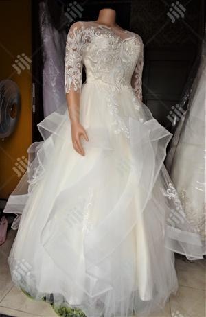 Cream Wedding Gown | Wedding Wear & Accessories for sale in Lagos State, Magodo