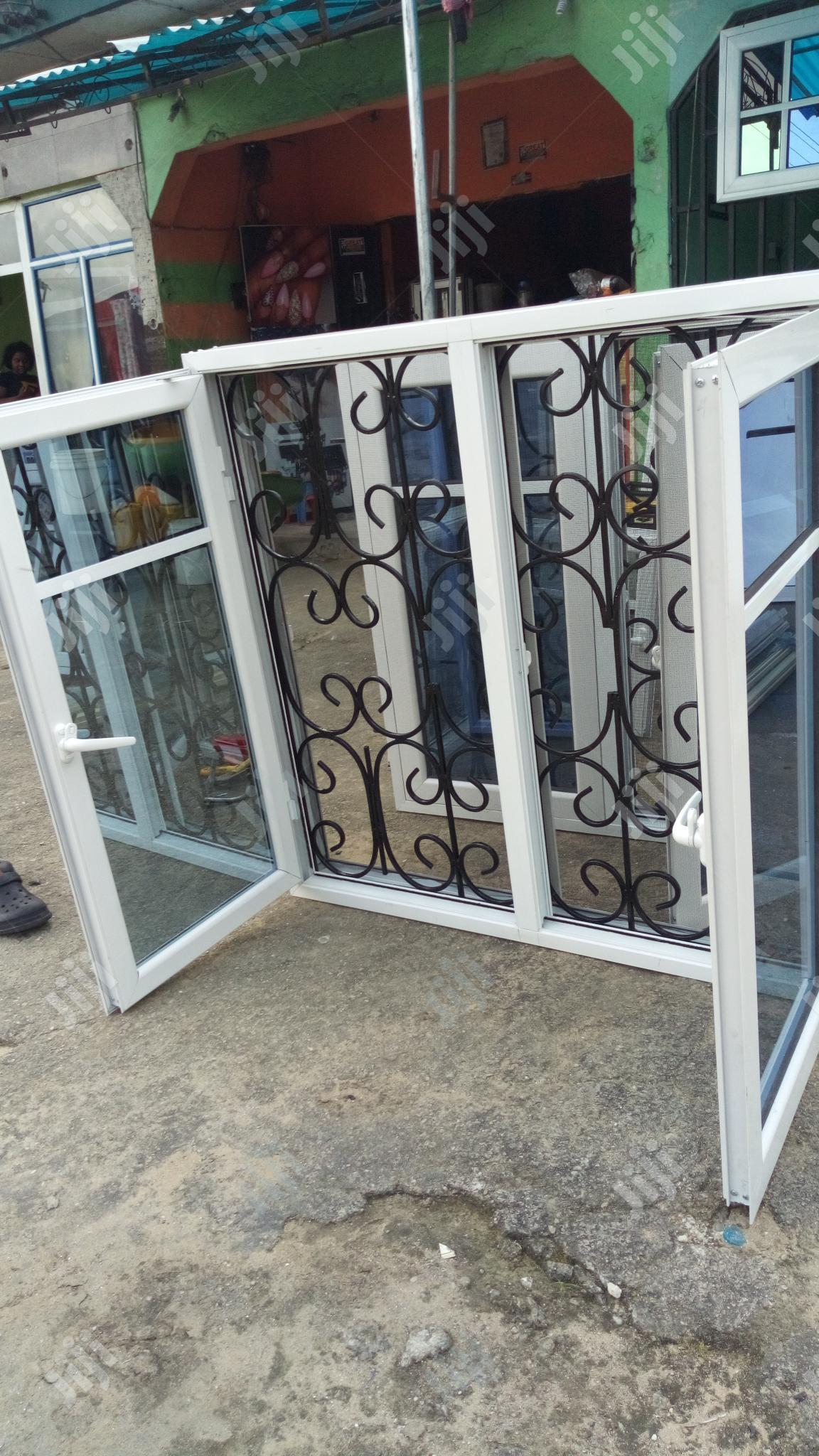 Casement Window With 12mm Rod Protector   Windows for sale in Port-Harcourt, Rivers State, Nigeria