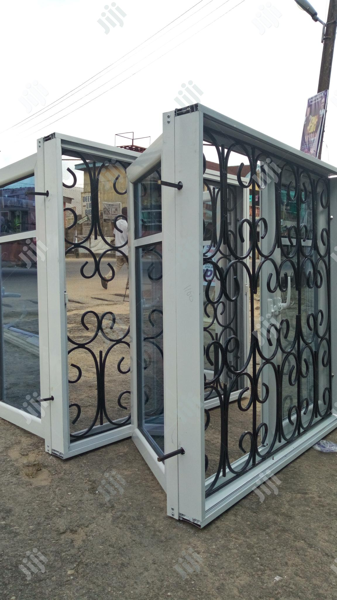 Casement Window With 12mm Rod Protector