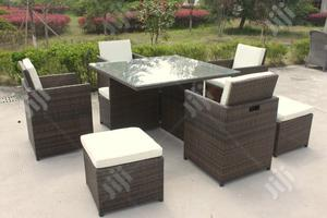 Well Fashioned Garden Rattan Dining Set   Manufacturing Services for sale in Lagos State, Ikeja
