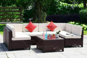 Beautiful 3-piece Garden Rattan Furniture   Manufacturing Services for sale in Lagos State, Ikeja