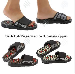 Foot Massage Slippers 82 Acupoint Massage Points Magnetic   Sports Equipment for sale in Lagos State, Mushin