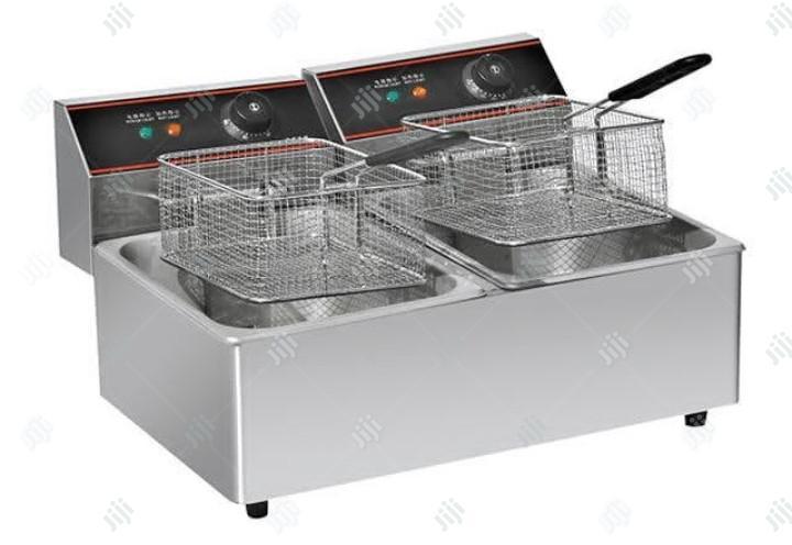 Archive: Electric Deep Fryer Double Baskets