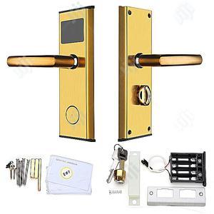 Digital Lock For Hotel Door With Cards Keys Anti-rust | Doors for sale in Lagos State