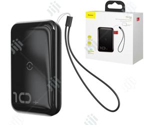 Baseus Mini S Bracket Wireless Power Bank 10000mah | Accessories for Mobile Phones & Tablets for sale in Lagos State, Ikeja