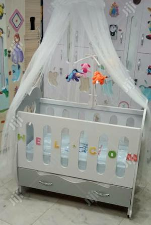 Complete Baby Bed With Standing Net and Toy Rack | Children's Furniture for sale in Lagos State, Ajah