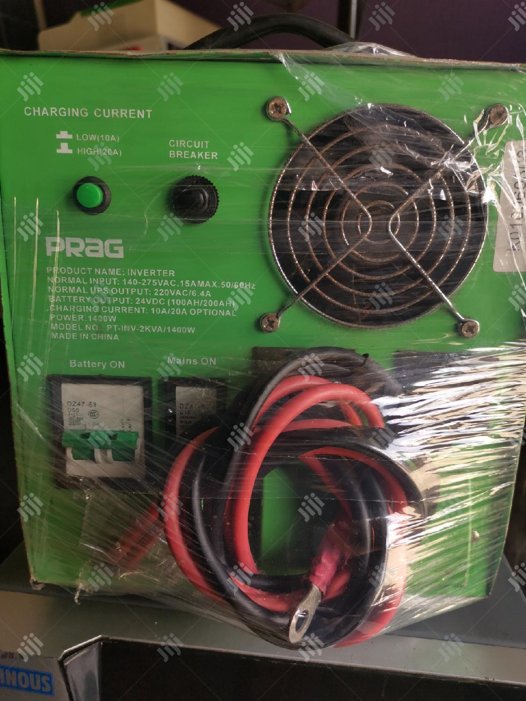 2kva/24v Prag Inverter   Solar Energy for sale in Shomolu, Lagos State, Nigeria