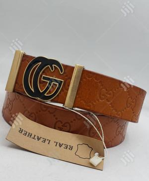 Gucci Brown Belt for Men's | Clothing Accessories for sale in Lagos State, Lagos Island (Eko)