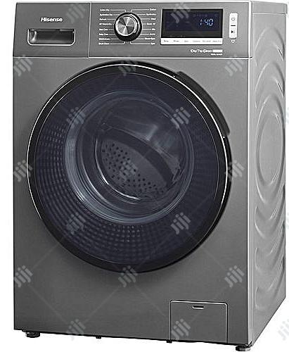 Hisense Washing Machine Smart Inverter-Wash-10kg/7kg-Dry | Manufacturing Equipment for sale in Ojo, Lagos State, Nigeria