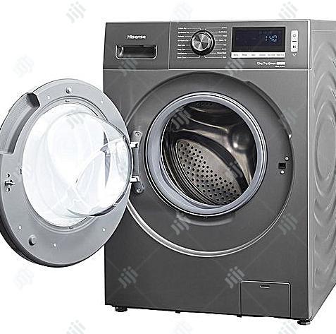 Hisense Washing Machine Smart Inverter-Wash-10kg/7kg-Dry