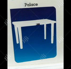 White Durable Plastic Tables And Chairs Available | Furniture for sale in Lagos State