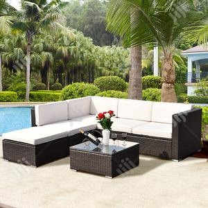 Grand Rattan Modular Garden Sofa Set W/ Cushion - For Easy Living.   Manufacturing Services for sale in Lagos State, Ikeja